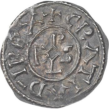 Charles II le Chauve, denier, vers 864-875, Saint-Denis