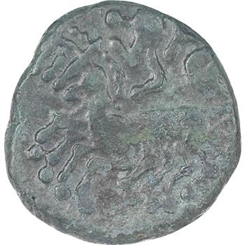 Celtes, Allobroges, statère en bas électrum au type d'Annonay