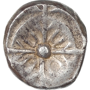 Celtes, Sud Ouest de la Gaule, drachme imitation de Rhodé