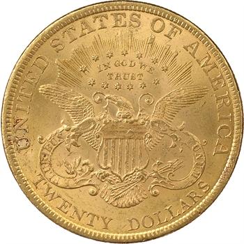 Etats-Unis, 20 Dollars «Liberty Head», 1897, Philadelphie