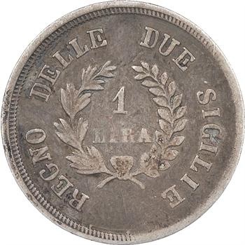 Italie, royaume de Naples, Joachim Murat, 1 Lire, 1813, Naples