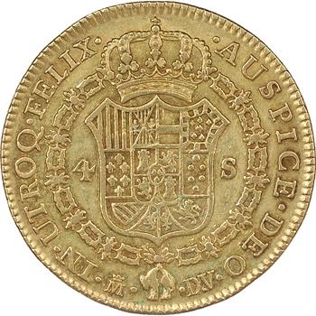 Espagne, Charles III (1759-1788), 8 Escudos, 1786, Madrid
