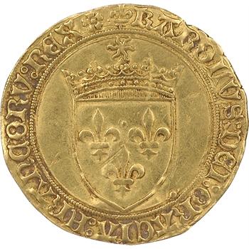 Charles VIII, écu d'or au soleil, Lyon