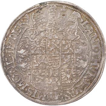 Allemagne, Sachsen / Alt-Weimar, Frédéric Guillaume Ier et Jean III, demi thaler, 1590