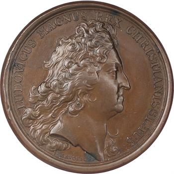 Louis XIV, médaille de la campagne de 1696