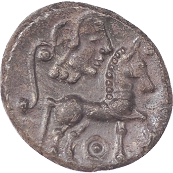 Lémovices, drachme, avers et revers à droite, 80-60 avant notre ère