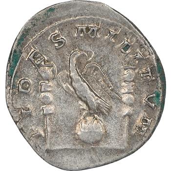 Gallien, antoninien, tête à gauche – FIDES MILITUM
