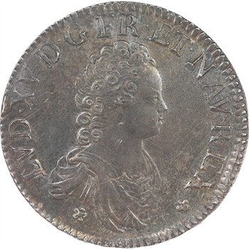 Louis XV, écu dit «vertugadin», 1715, Paris