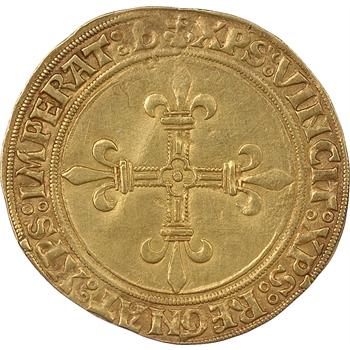 Louis XII, Ecu d'or comprenant la variété b en fin de légende
